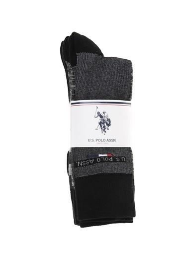 U.S. Polo Assn. Çorap Antrasit
